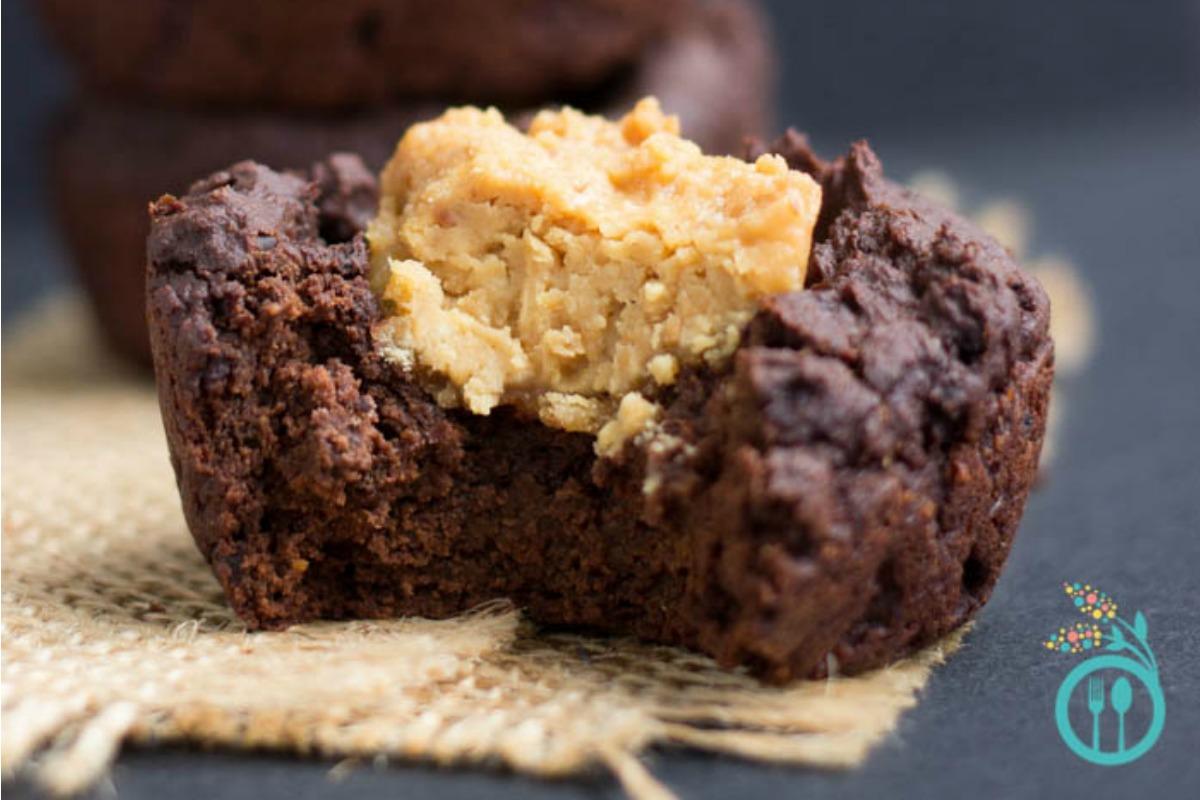 Sugar-Free Peanut Butter Quinoa Brownies [Vegan, Gluten-Free]