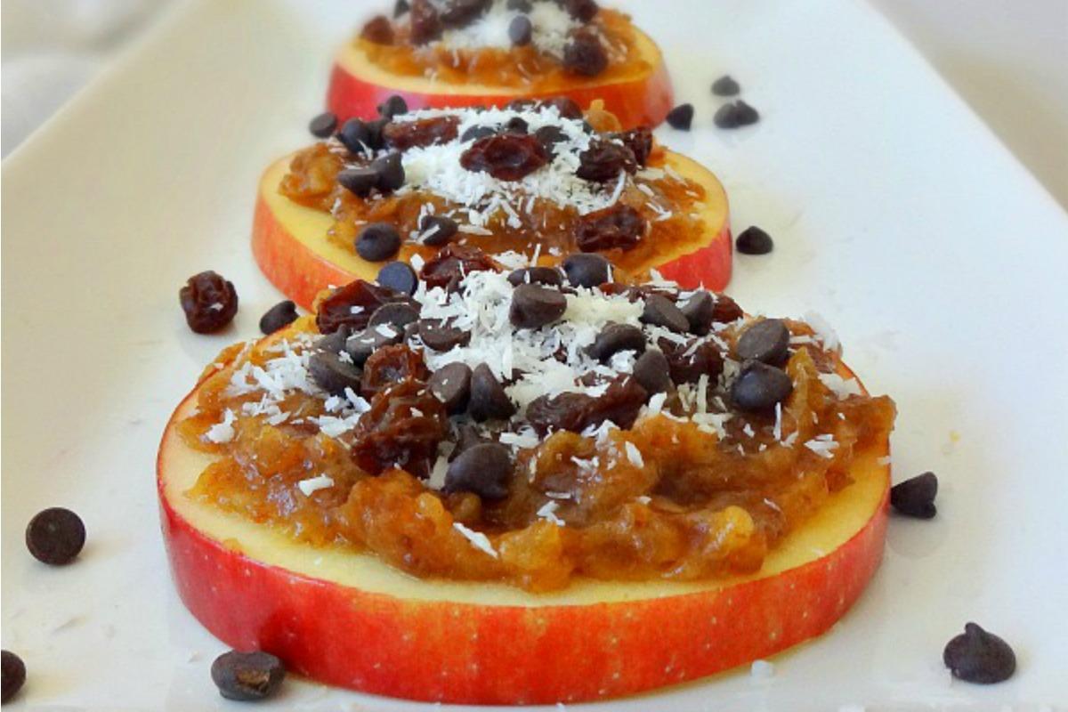 Raw Vegan Caramel Apple Cookies [Gluten-Free]