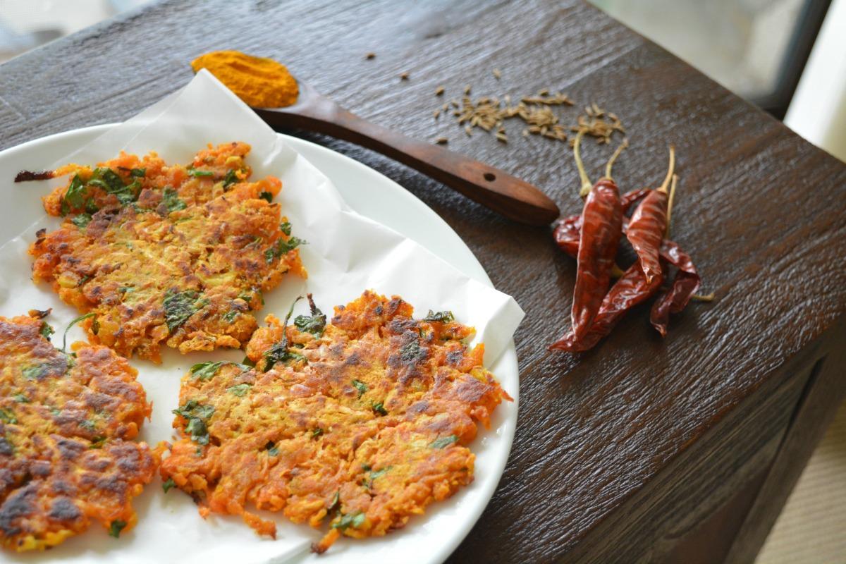Meatless Monday Curried Hashbrown [Vegan, Gluten-Free]