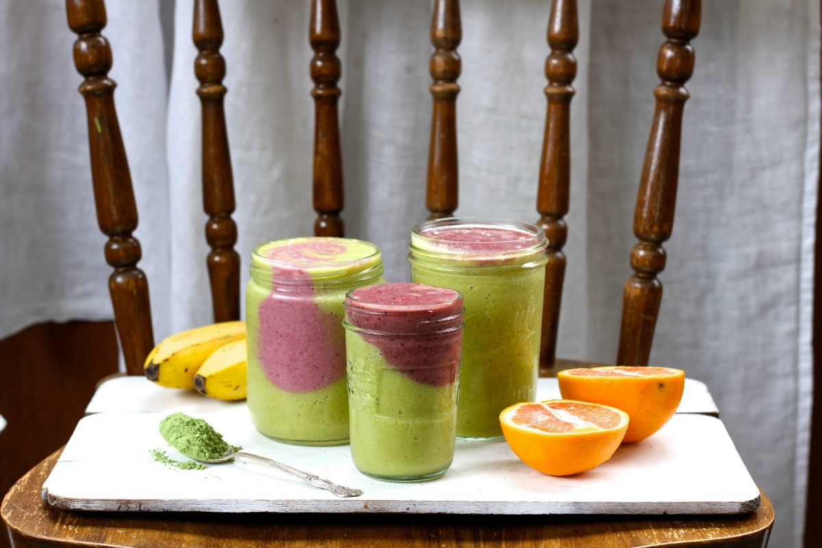 Organic Burst Smoothies! [Vegan, Raw, Gluten-Free]
