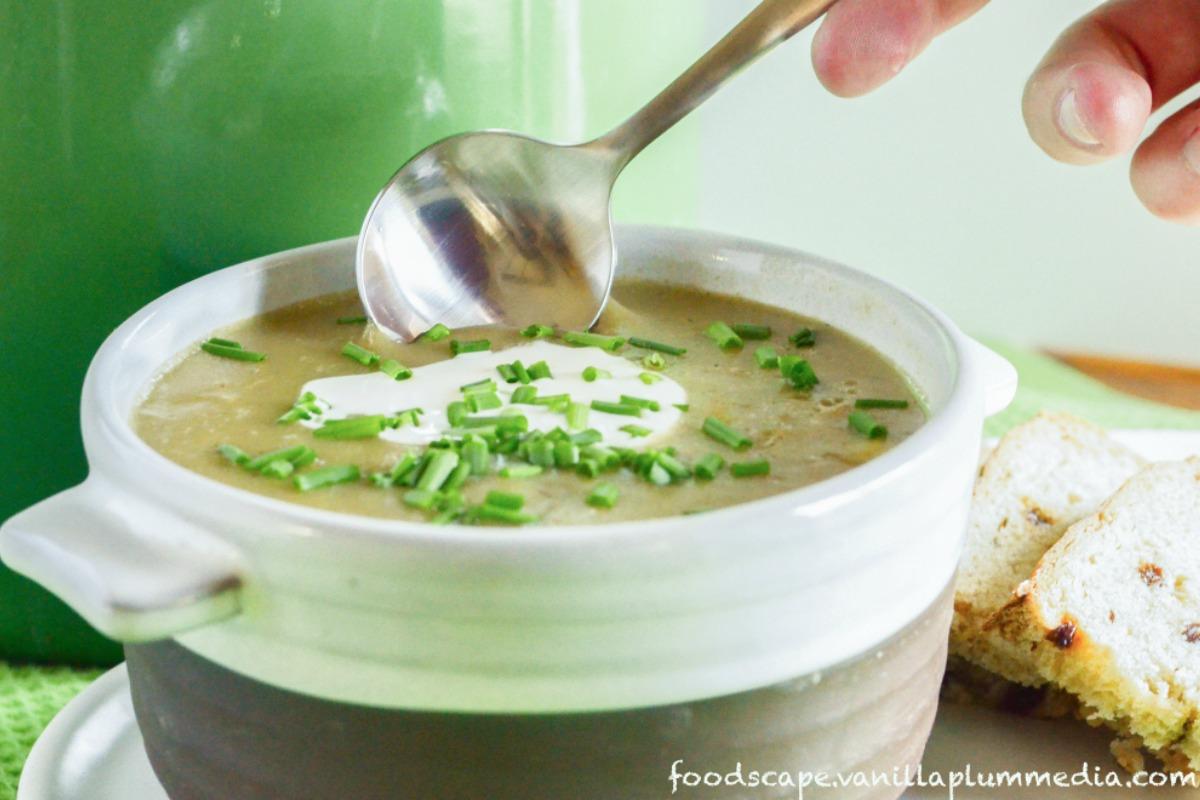 Creamy Potato Leek Soup