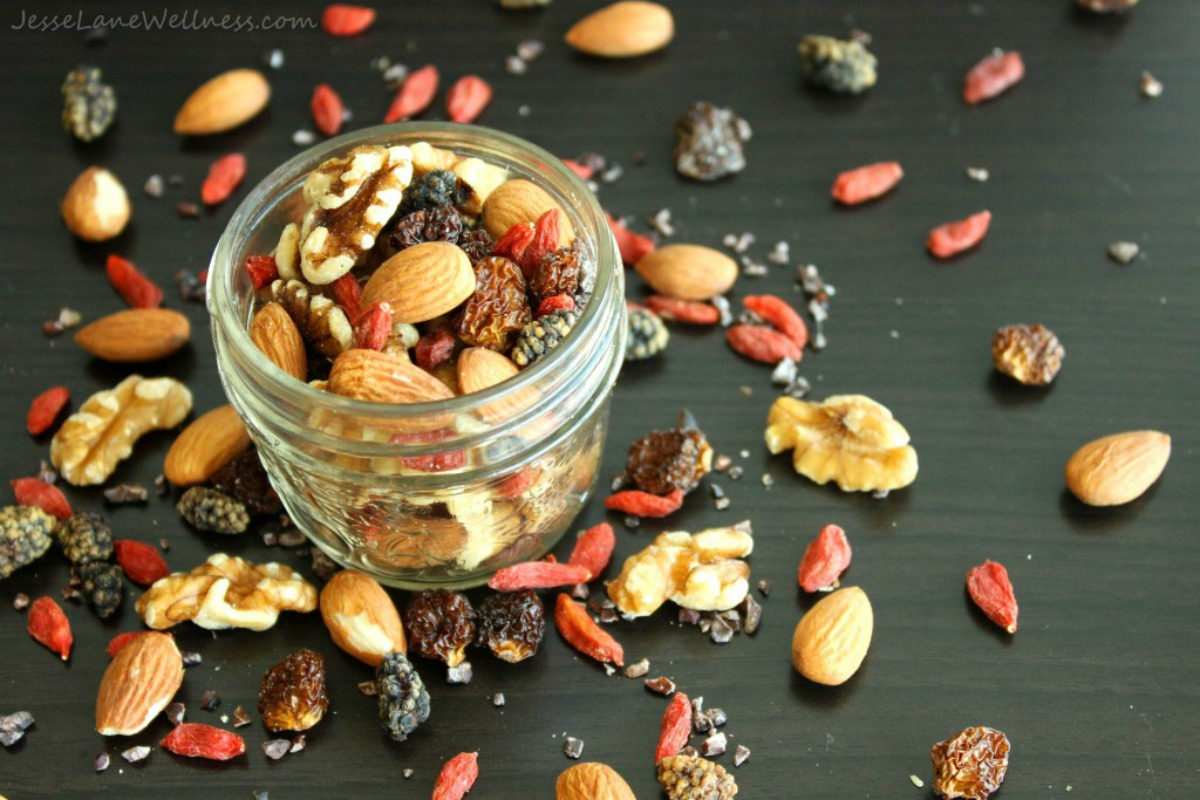 Vegan Superfood-Packed Trail Mix
