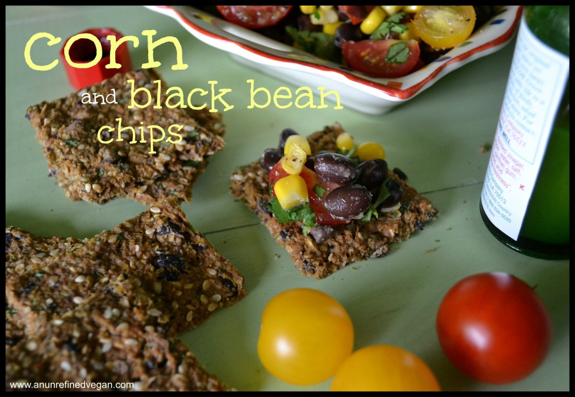 Corn and Black Bean Chips