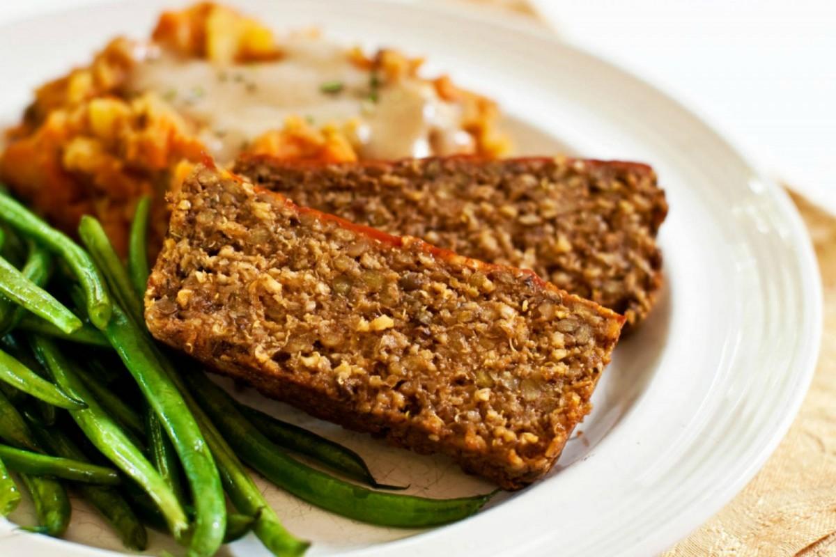 Meatless No-Fu Love Loaf