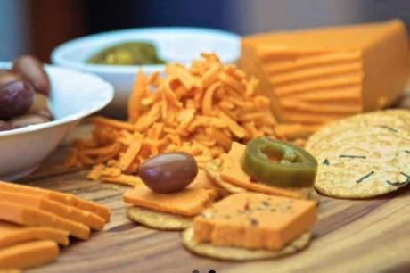 Vegan Paprika Cheese