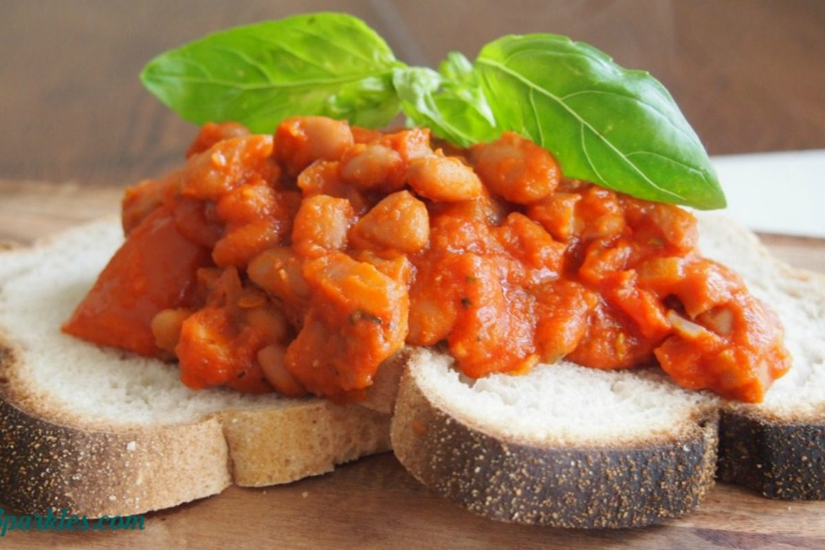 Easy, Healthy, Homemade Baked Beans [Vegan, Gluten-Free]