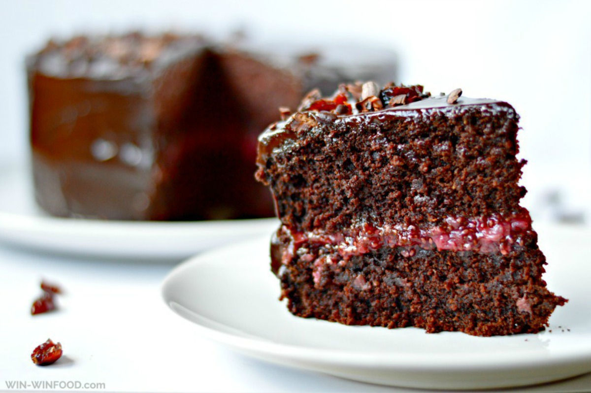 Black Forest Cake [Vegan]