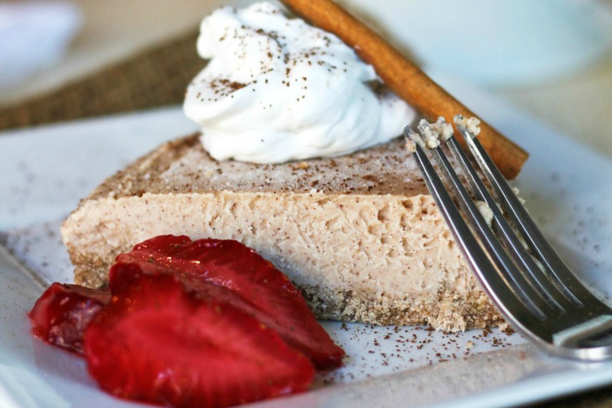 Cinnamon Coconut New York Style 'Cheesecake'