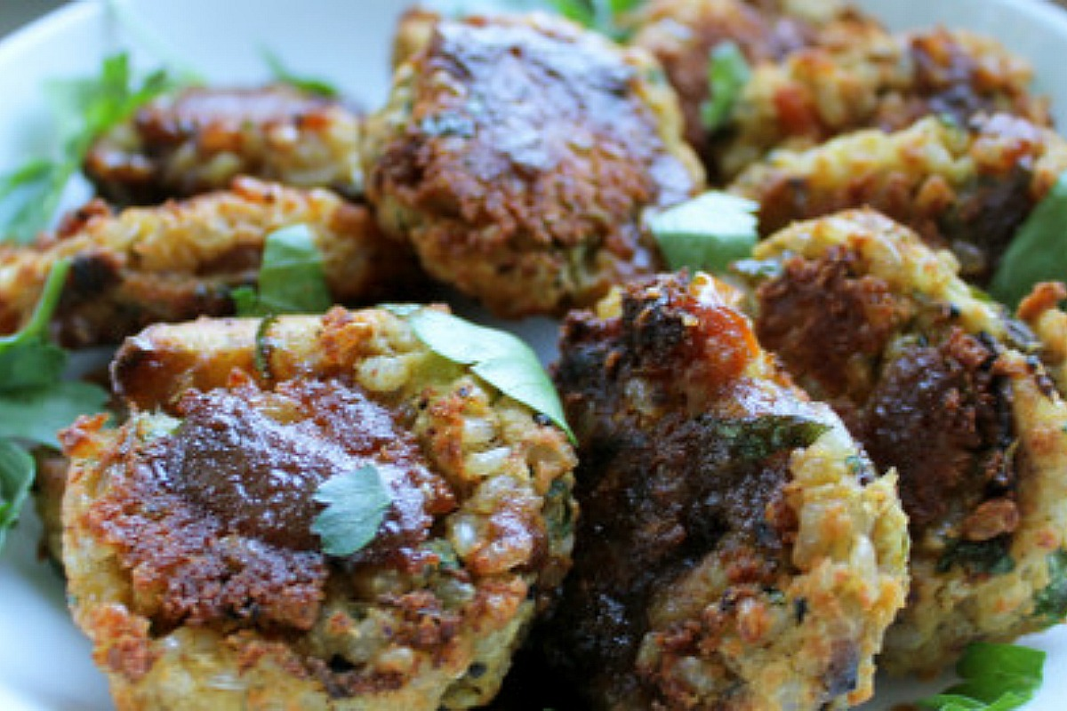 kitchari patties