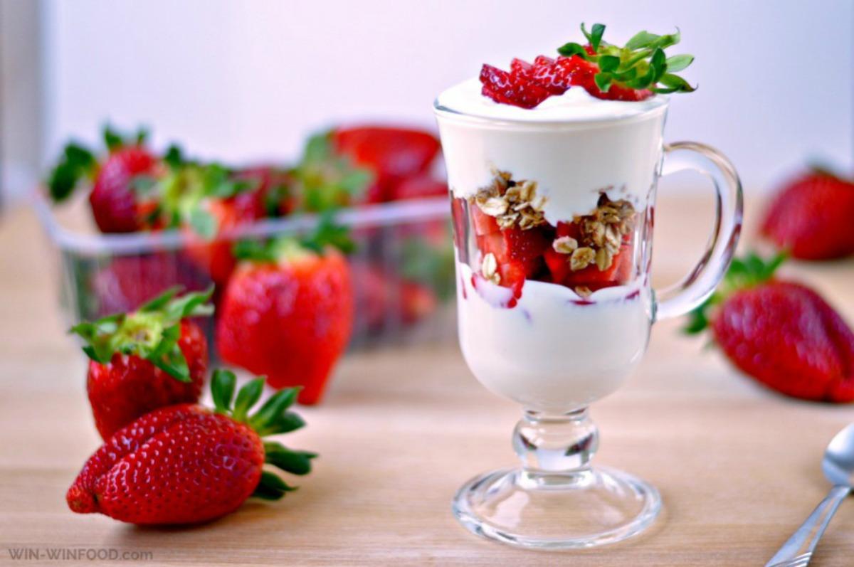 Strawberry Parfait [Vegan, Gluten-Free]