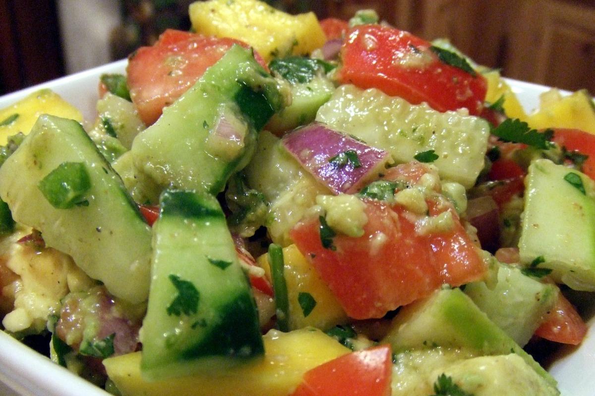 Mango Avocado Salsa [Vegan, Gluten-Free]