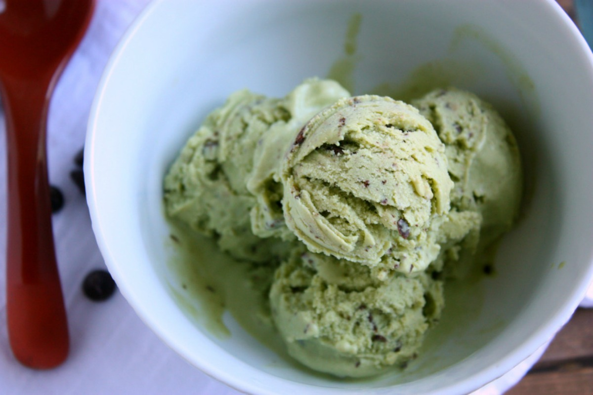 Mint Matcha Chip Ice Cream [Vegan, Gluten-Free]