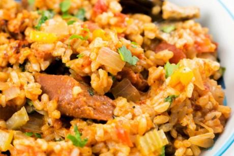 Easy Cajun Jambalaya [Vegan]