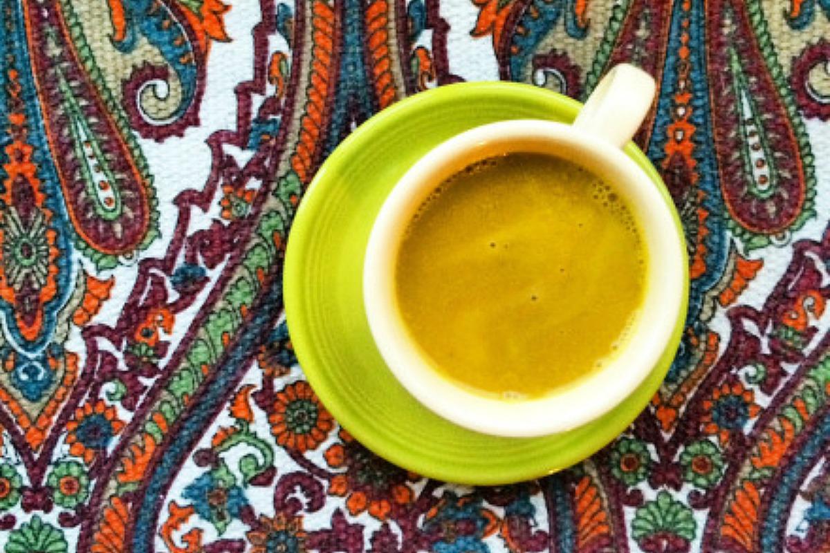 Tasty Turmeric Latte [Vegan, Gluten-Free]