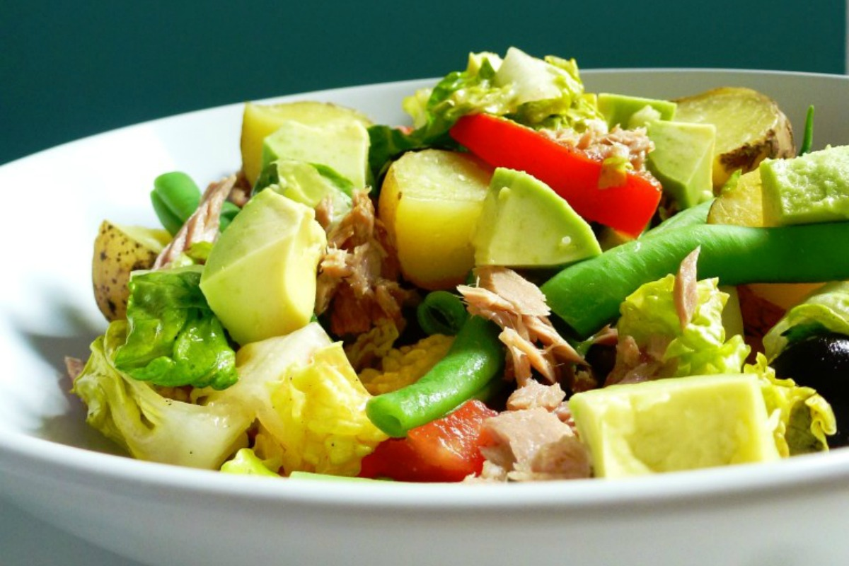 Vegan Nicoise Salad With Avocado