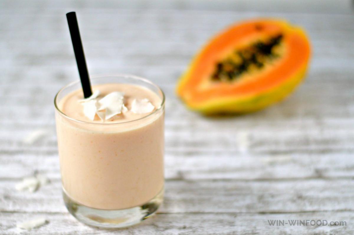 Papaya Coladas [Vegan, Gluten-Free]