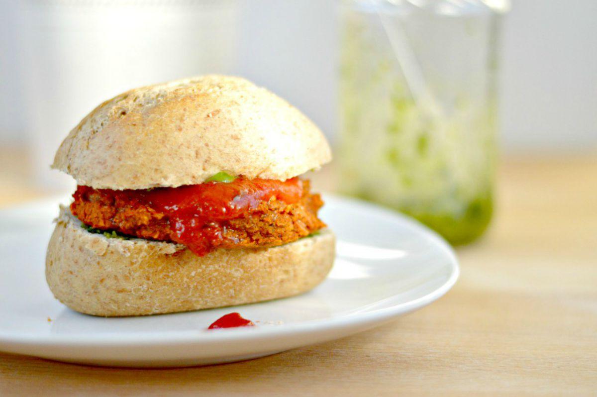 Italian Veggie Burgers [Vegan]
