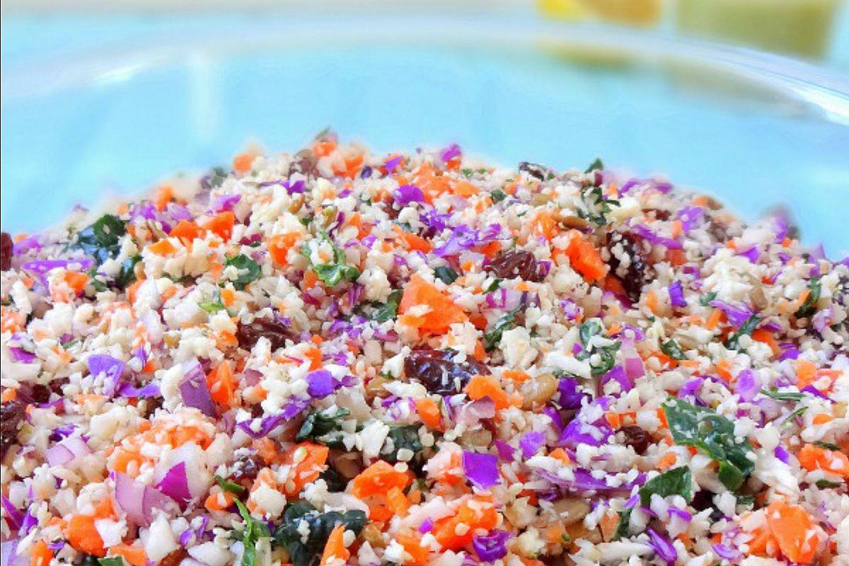 Chopped Detox Salad [Vegan, Raw, Gluten-Free]