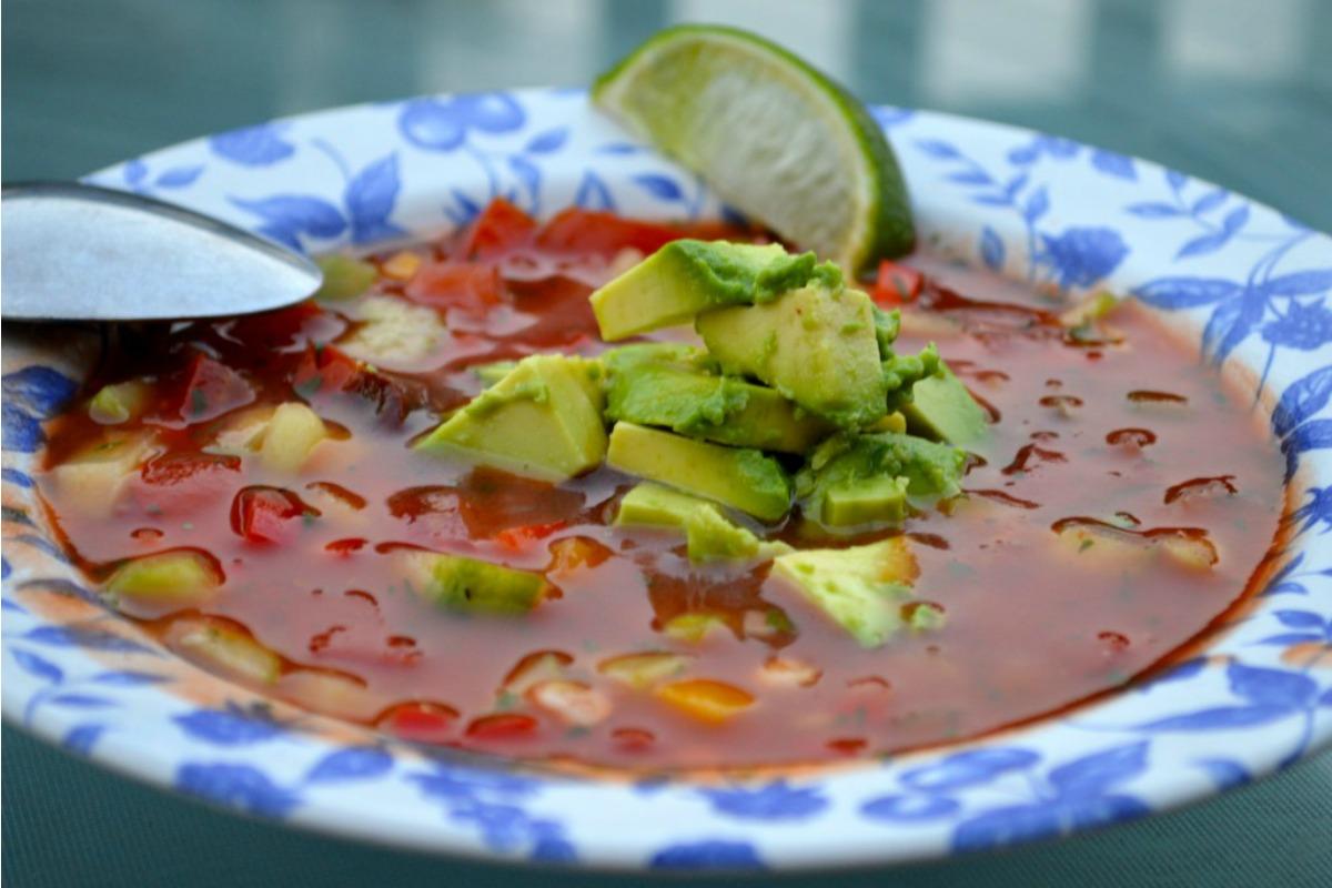 Chipotle Gazpacho [Vegan, Gluten-Free]