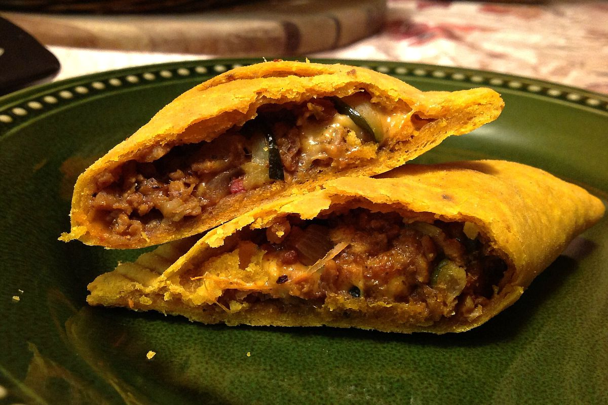 "Jamaican ""Beef"" Patties with Cheese [Vegan, Gluten-Free]"