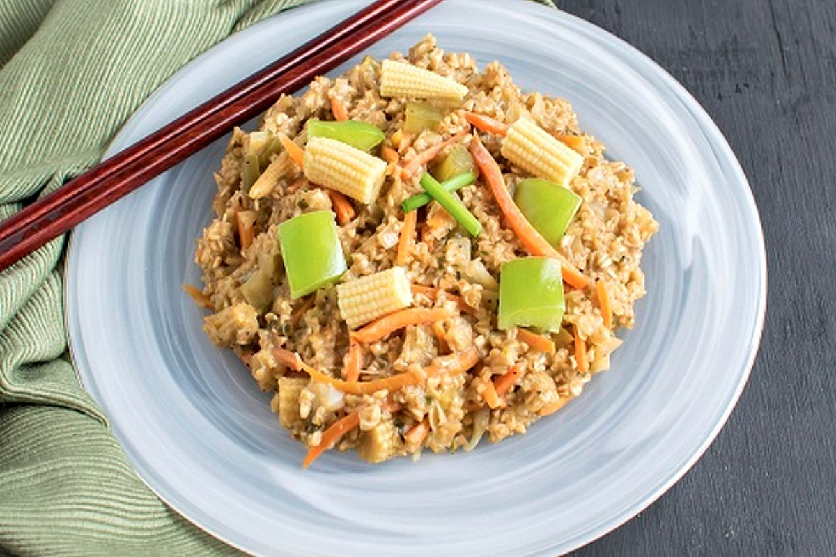 Chinese Oatmeal [Vegan]
