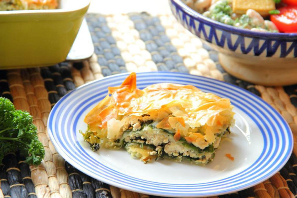 Turkish Tofu and Spinach Börek [Vegan, Gluten-Free]