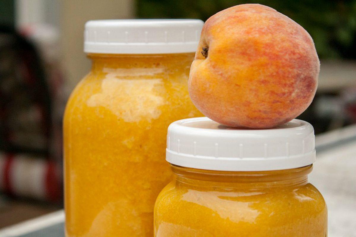 Peach Habanero Hot Sauce [Vegan, Gluten-Free]