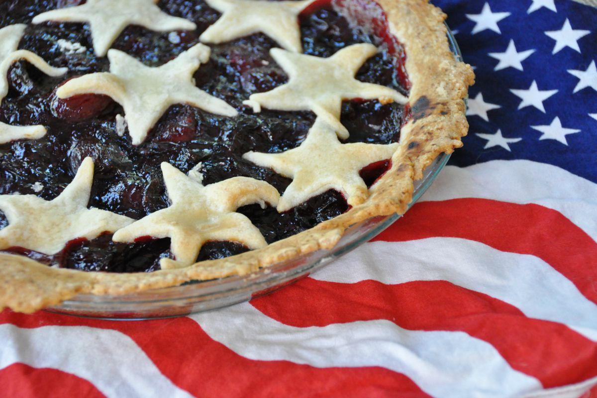 Chambord Cherry Pie [Vegan]