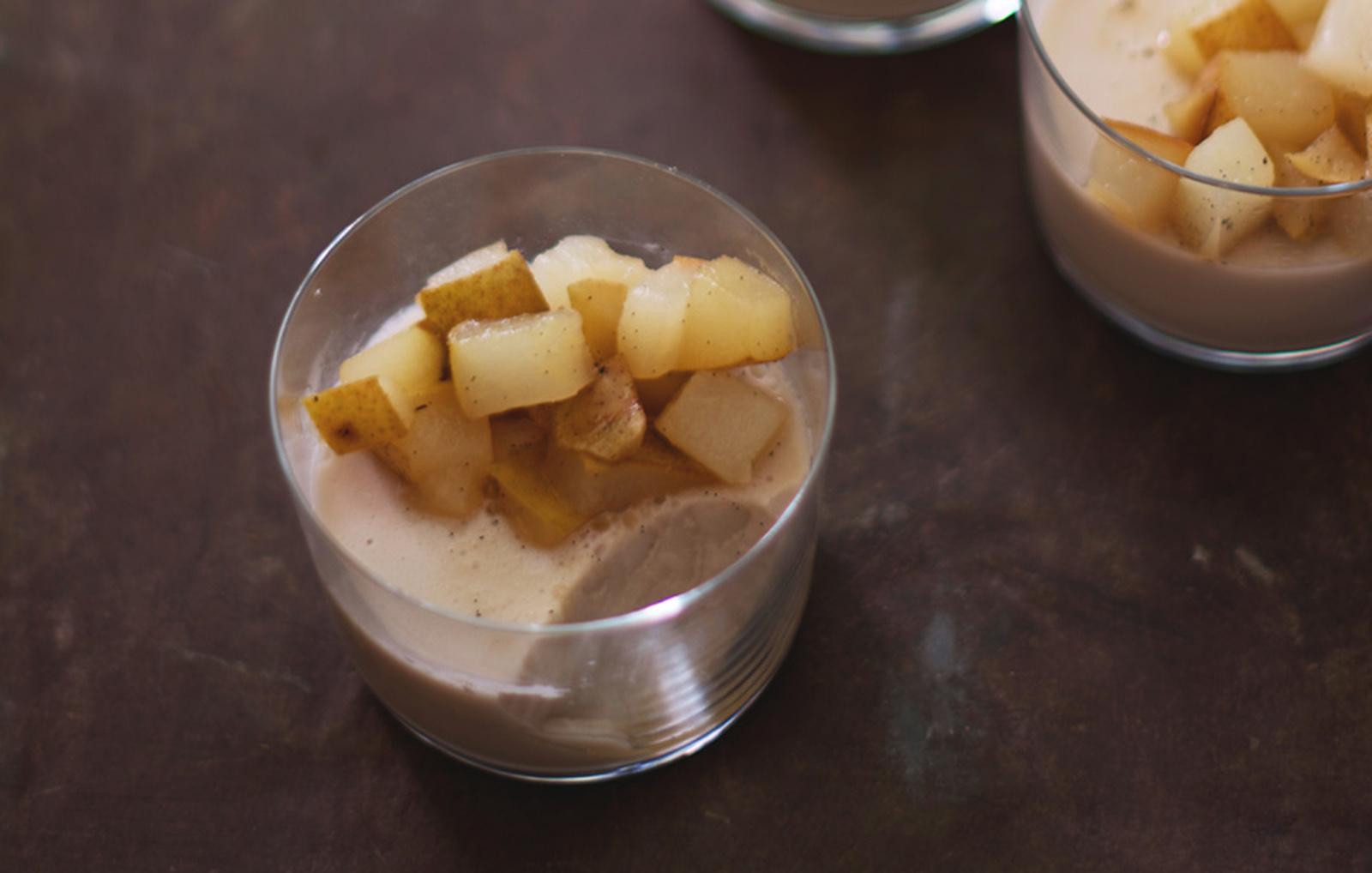 Almond and Chamomile Panna Cotta [Vegan, Gluten-Free]