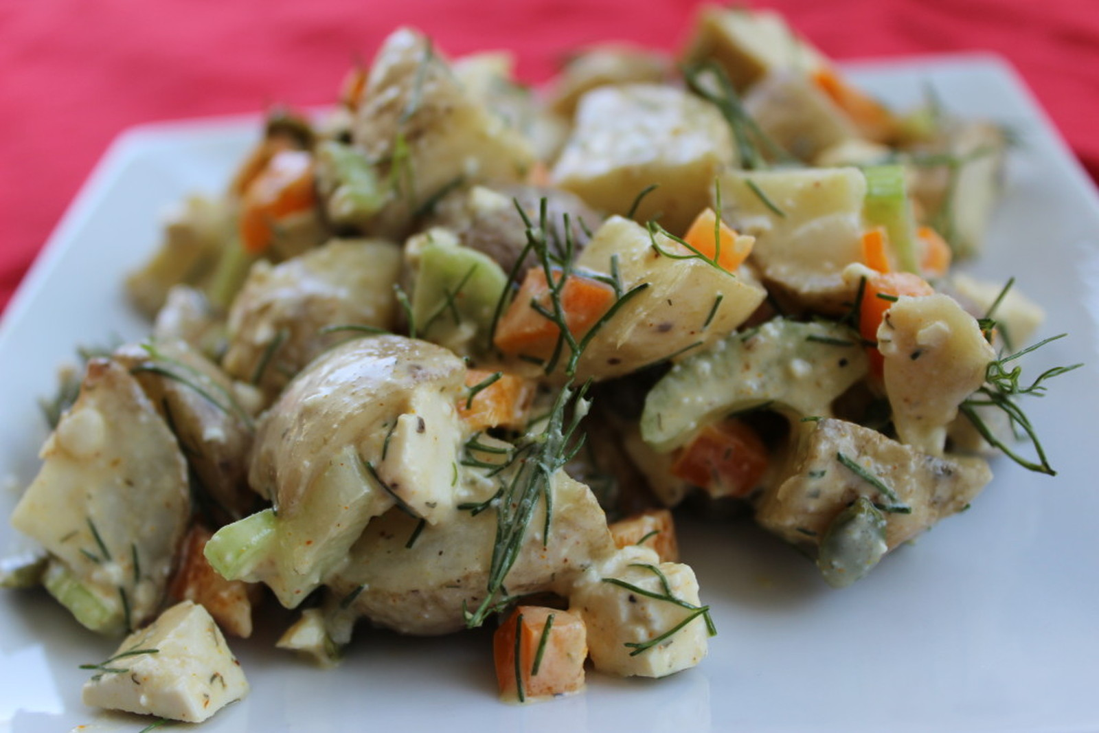 Potluck Potato Salad [Vegan, Gluten-Free]