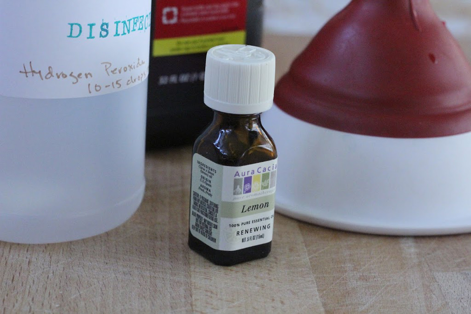 DIY Disinfectant Spray - One Green