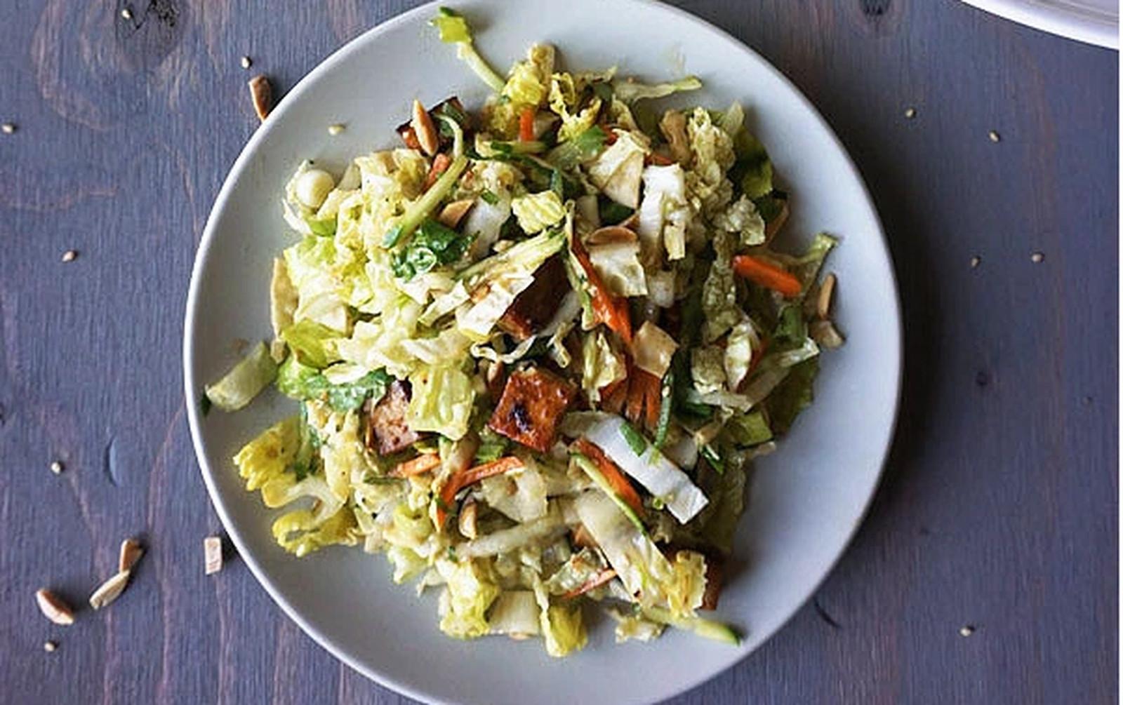 Sesame Crunch Salad [Vegan, Gluten-Free]