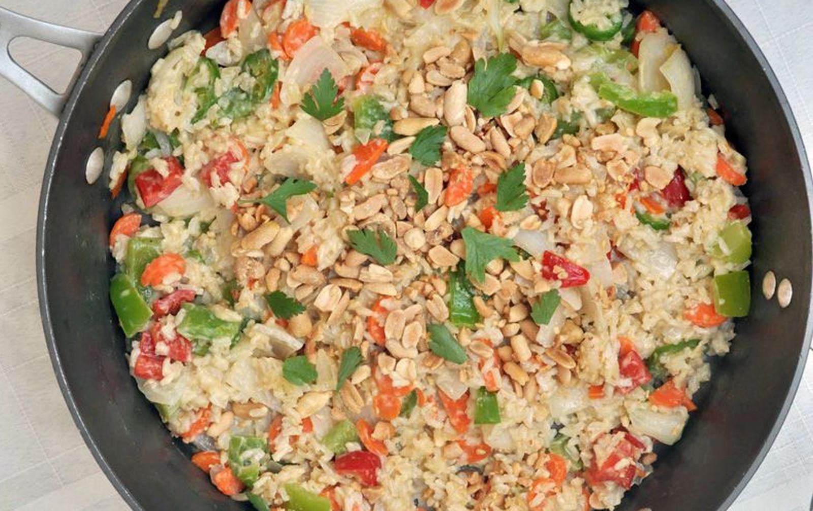 Thai Coconut Rice [Vegan, Gluten-Free]
