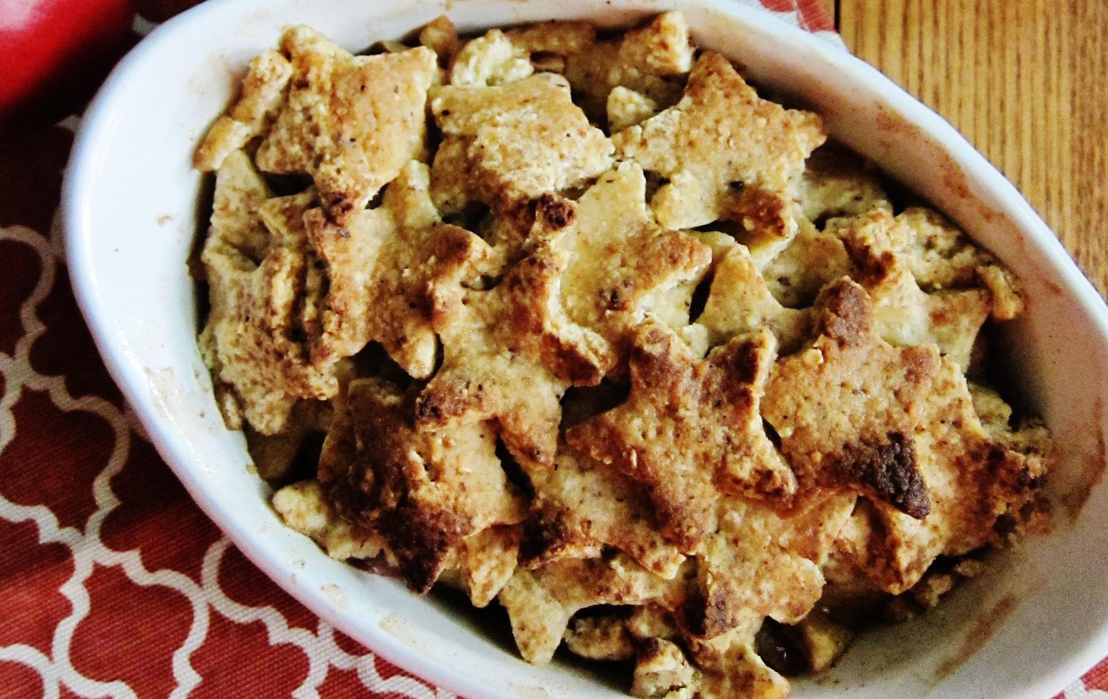 Cinnamon Apple Pear Pandowdy [Vegan, Gluten-Free]