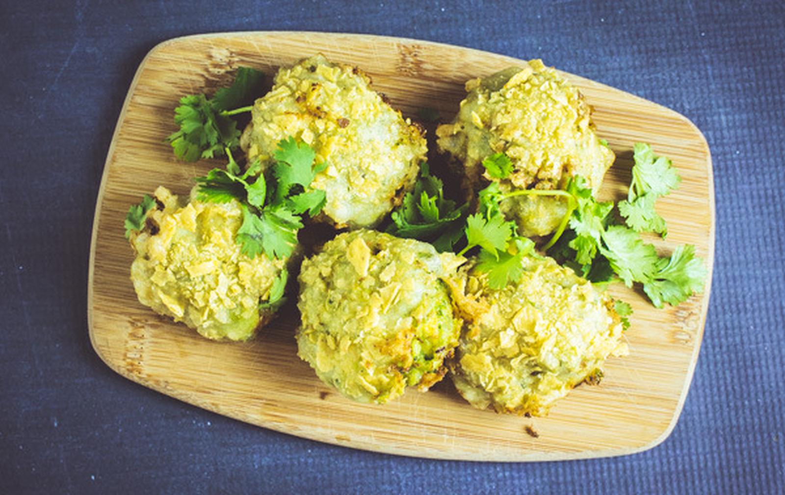 Fried Guacamole Two Ways [Vegan]