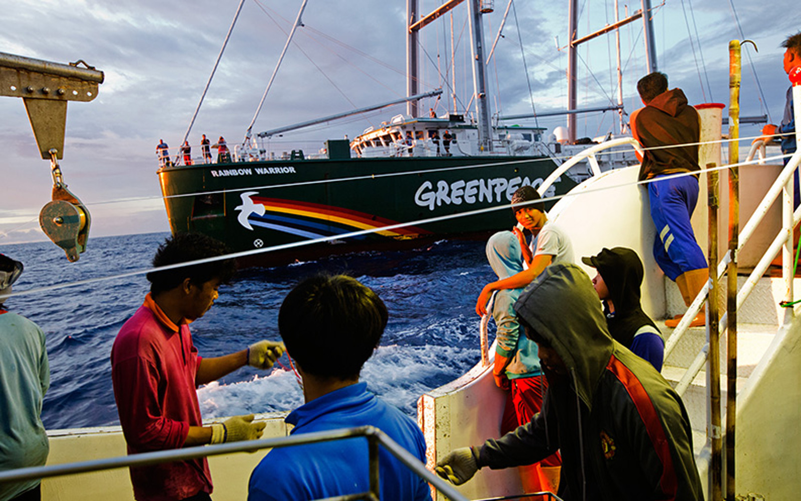 My Experience Busting an Illegal Fishing Vessel