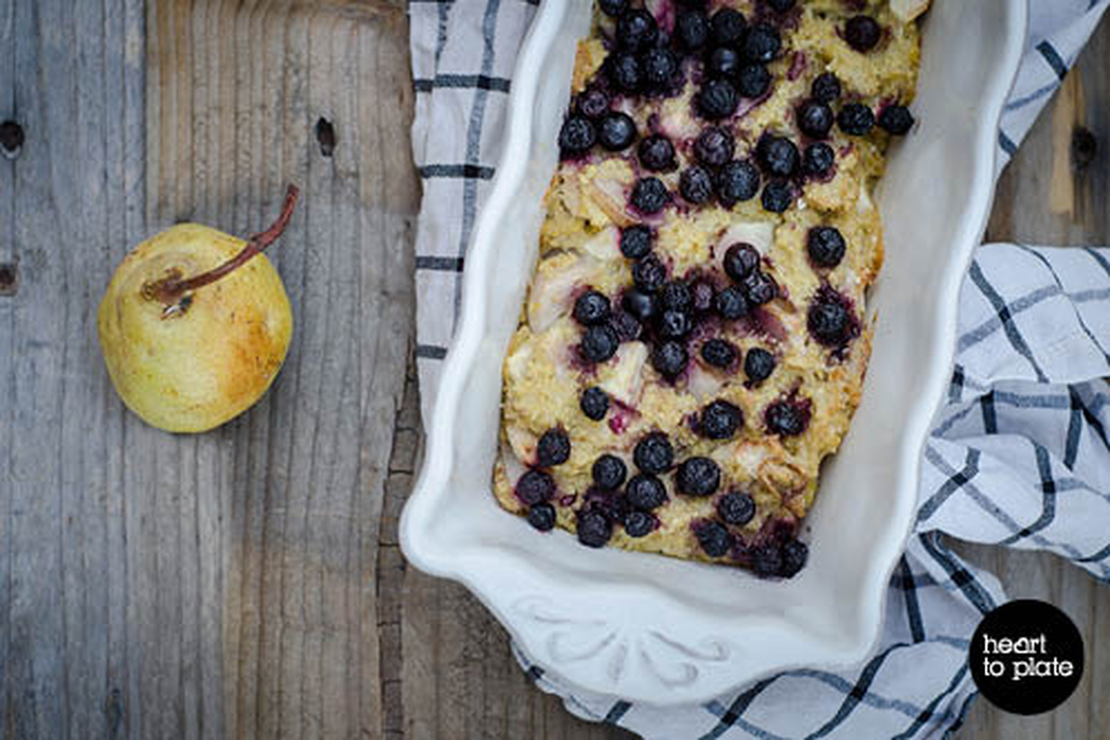 Seasonal Fruit and Nut Millet Bake [Vegan, Gluten-Free]