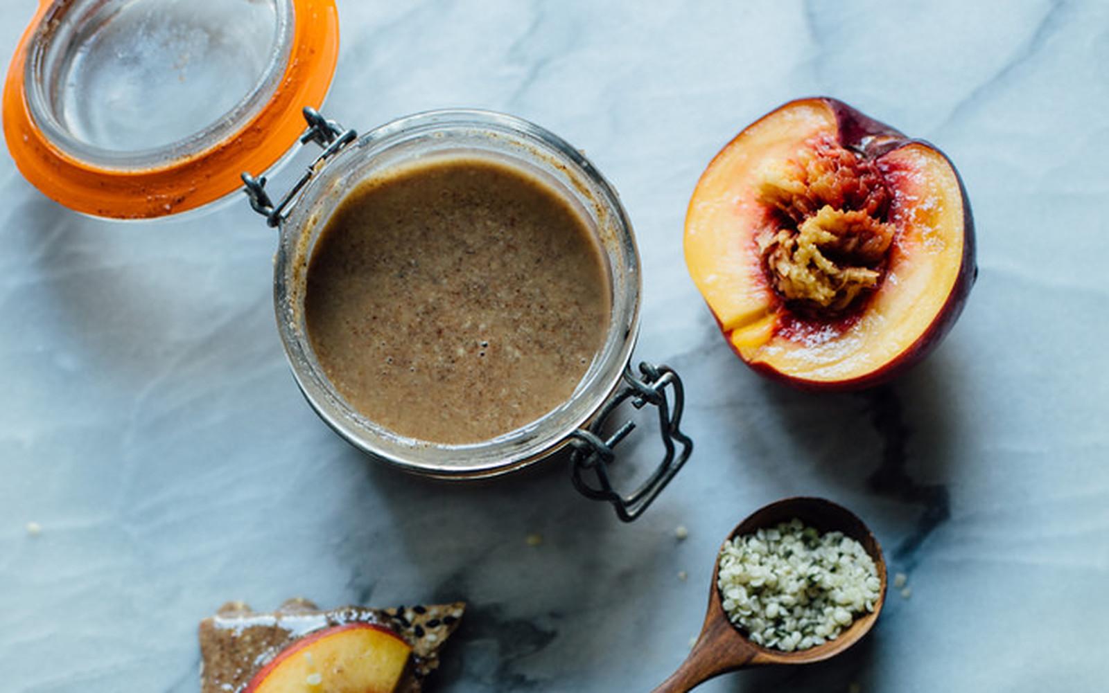 Roasted Cinnamon Vanilla Pecan Cashew Butter [Vegan, Gluten-Free]