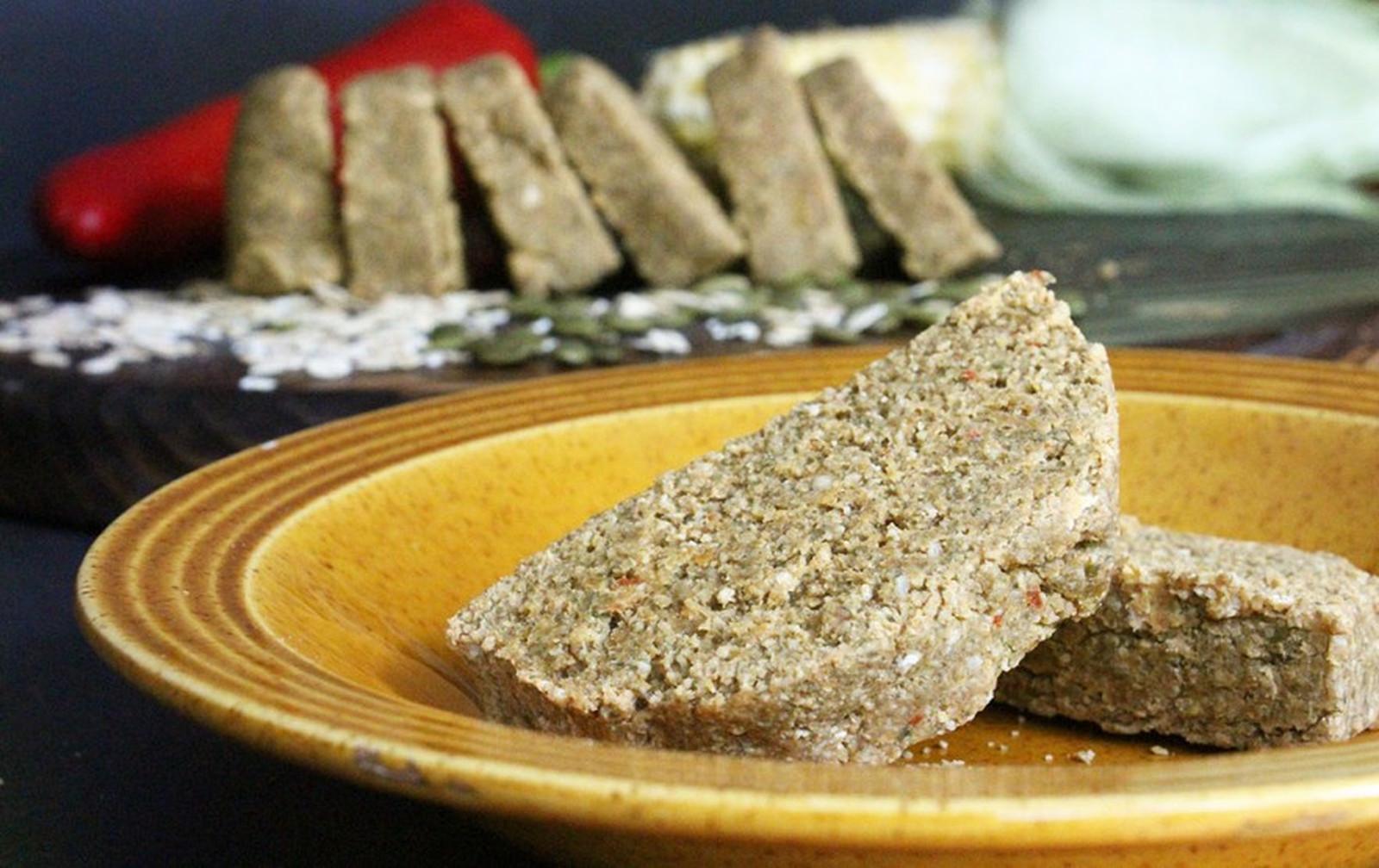 Raw Vegan Cornbread [Gluten-Free, Nut-Free]