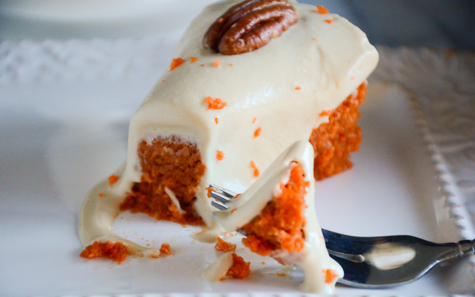 Vegan Double Decker Carrot Cake