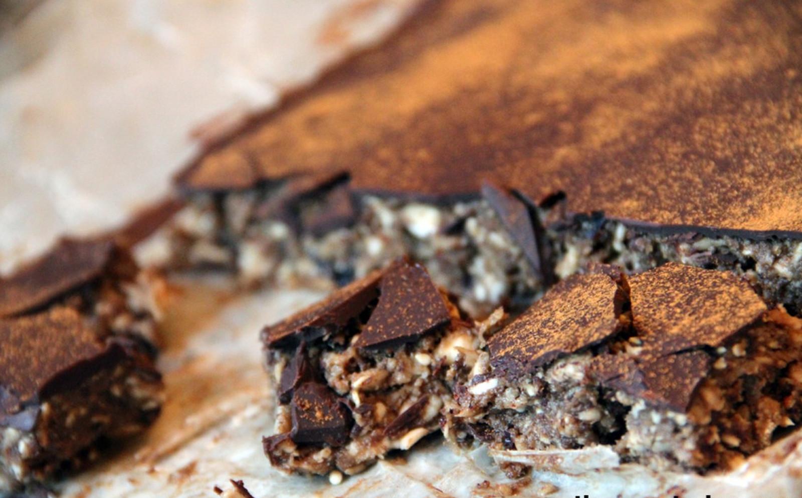 Chocolate Coconut Gooey Goodness Bars