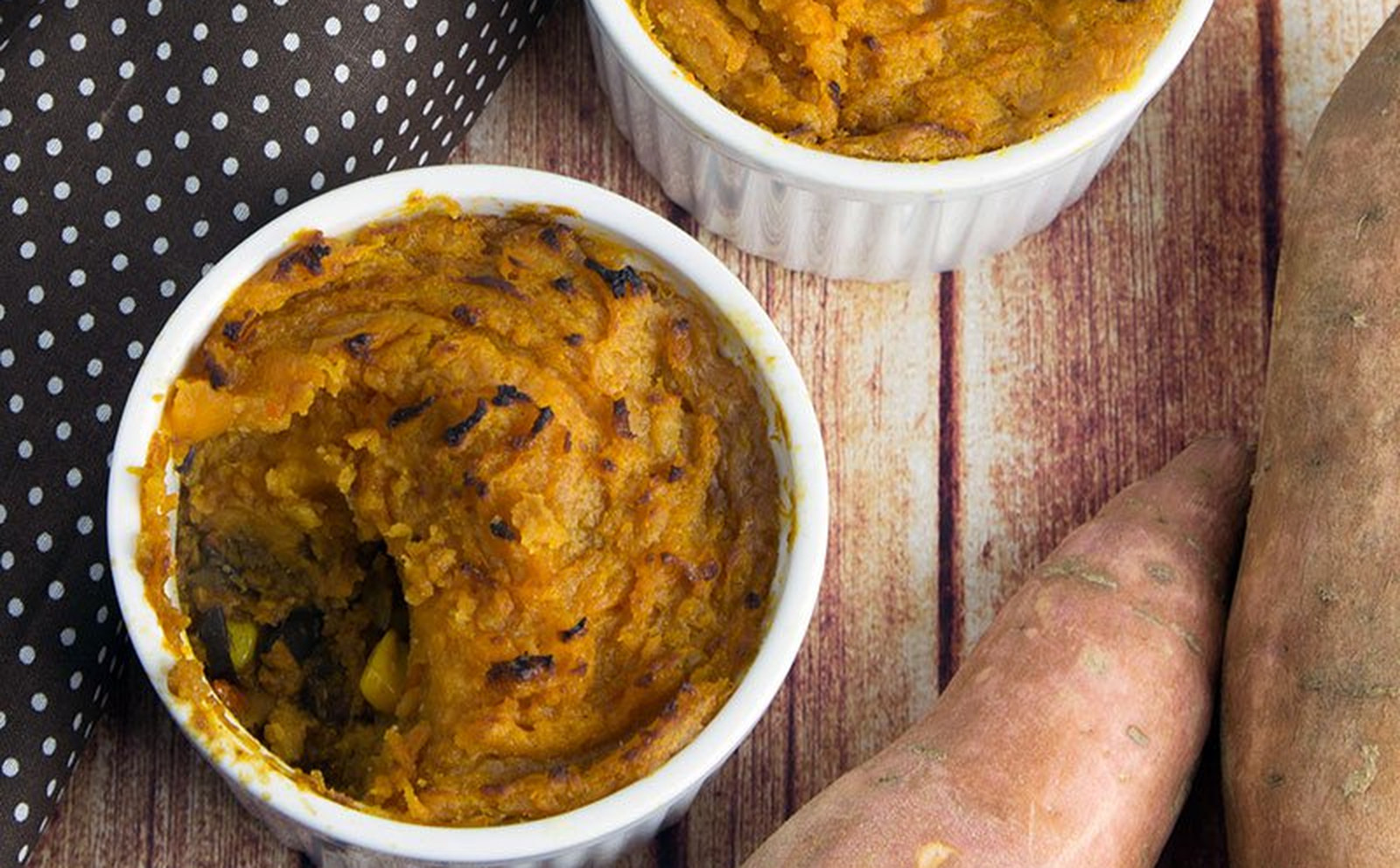 Vegan Black Bean Chili Pot Pie With Cumin Sweet Potato Crust