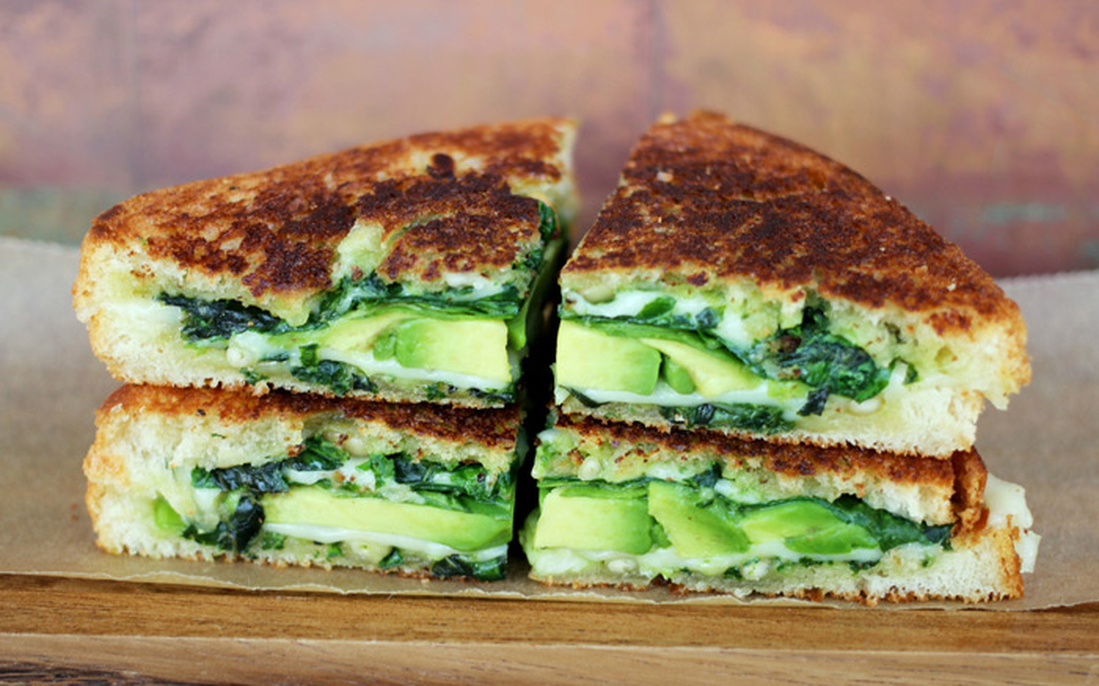 Green Goddess Griller vegan grilled cheese
