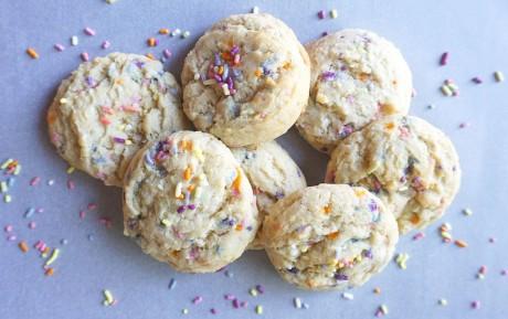 Funfetti Sprinkle Cookies [Vegan]