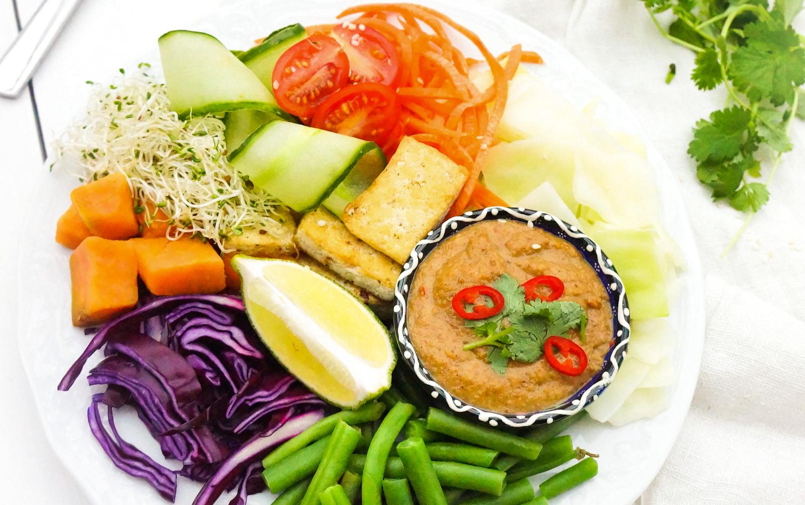 Indonesian Gado Gado [Vegan, Gluten-Free]