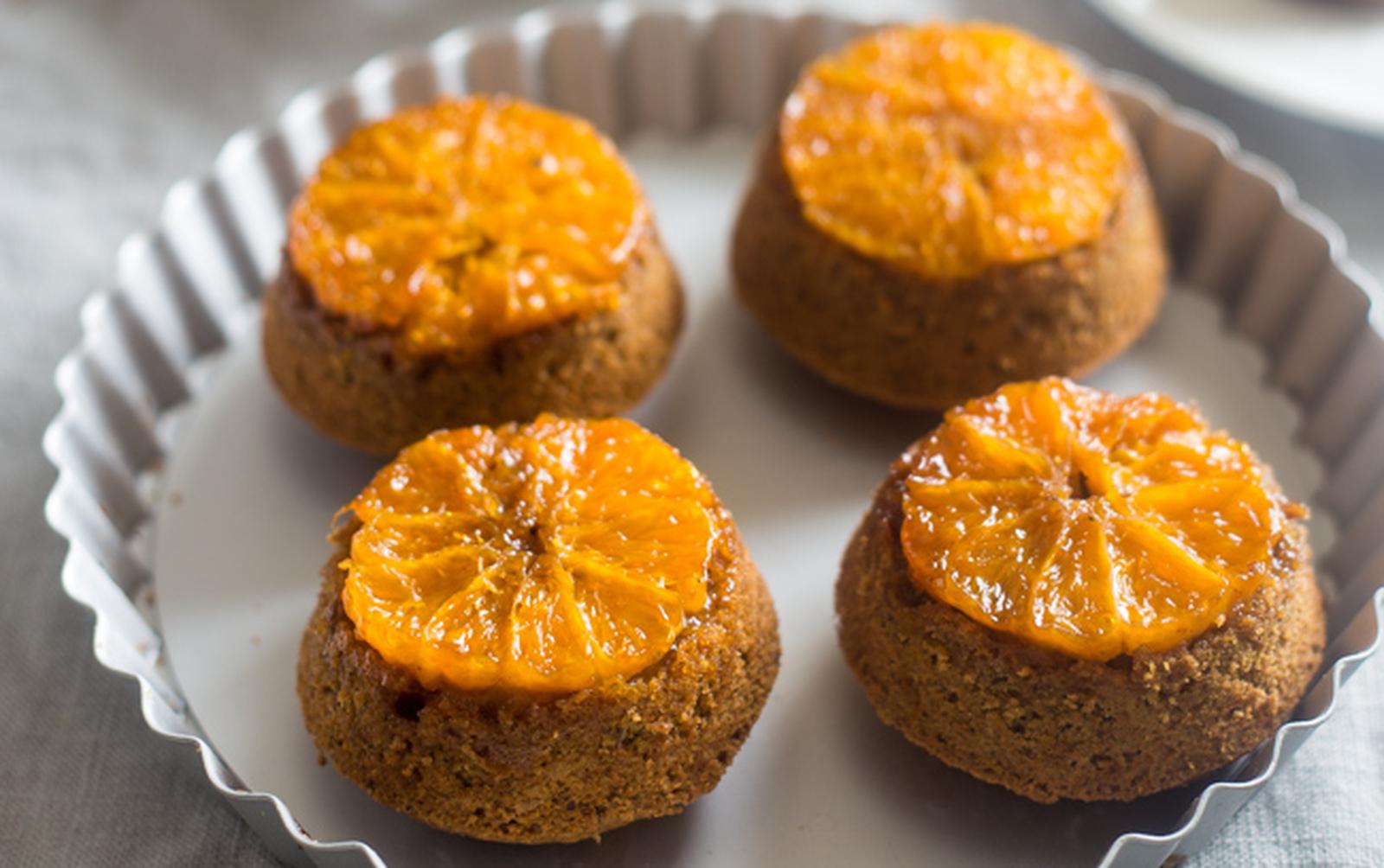 Citrus Upside-Down Muffins [Vegan, Gluten-Free]