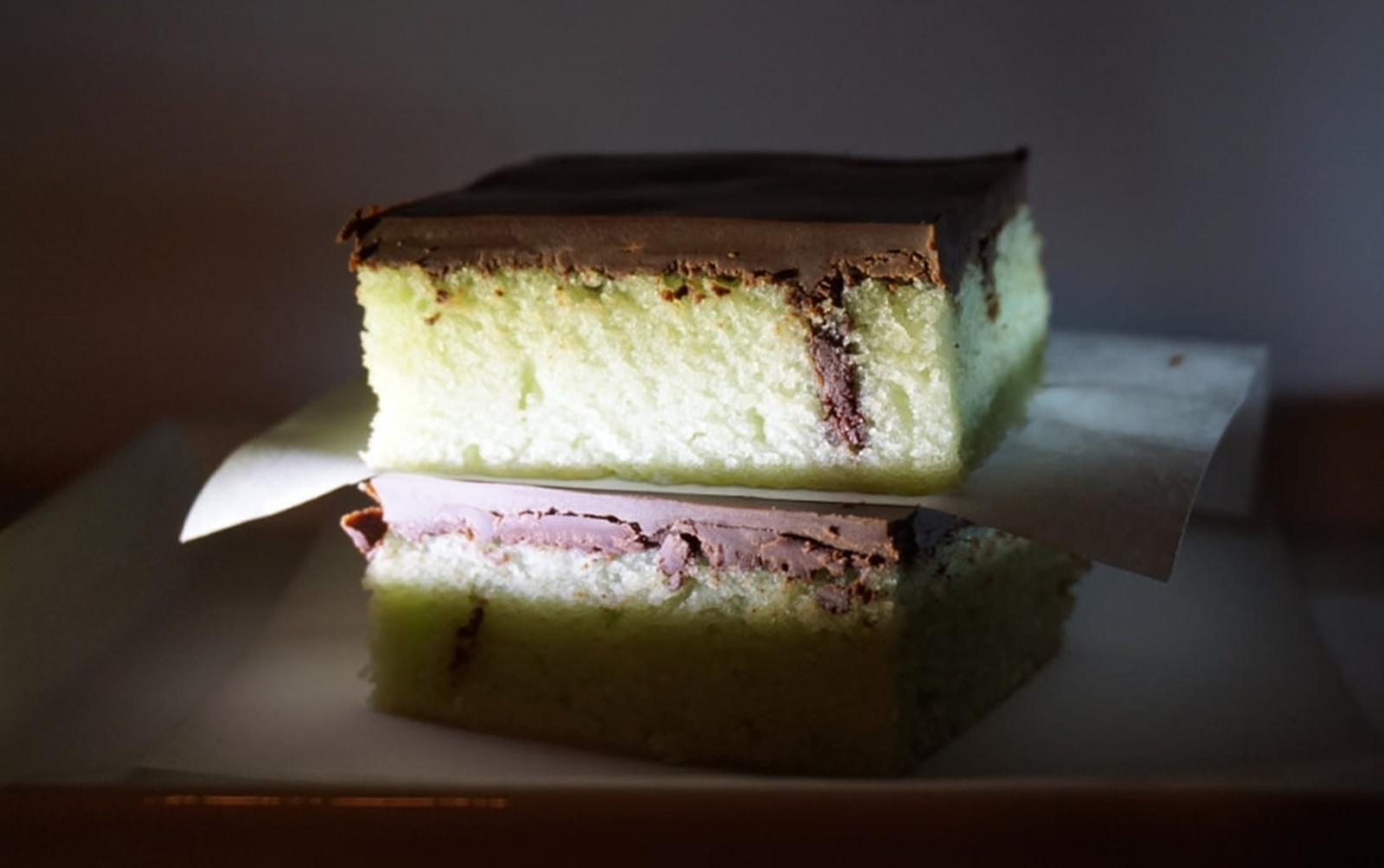 Ghoulishly Green Poison Cake [Vegan]