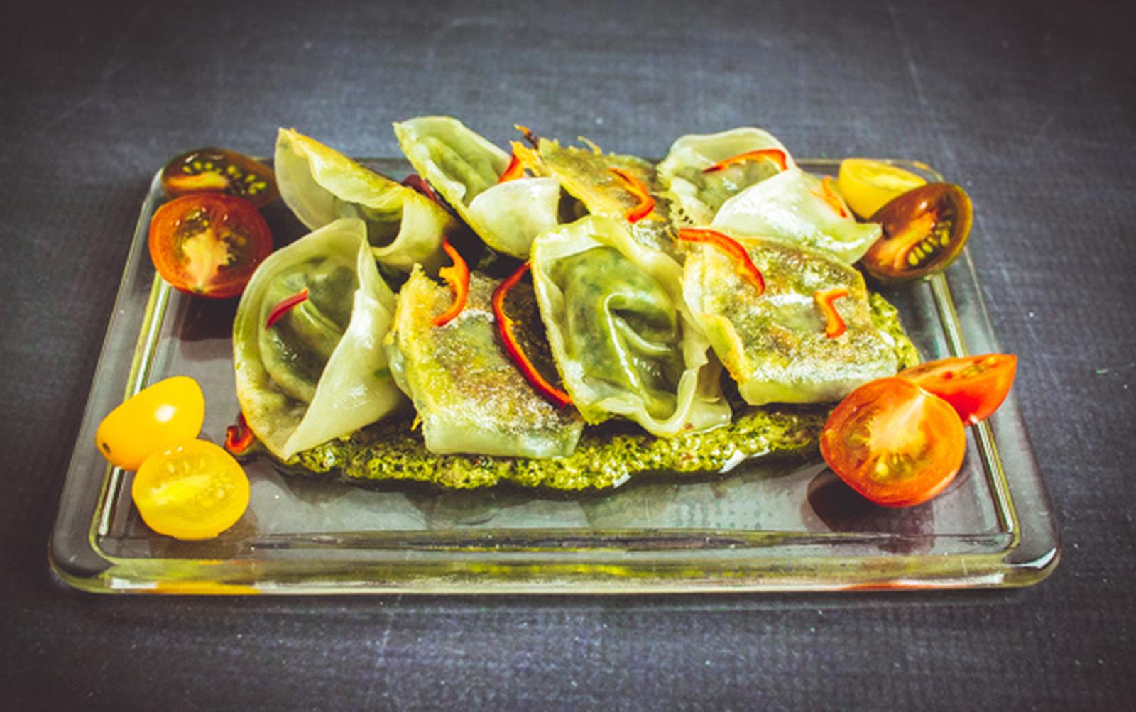 Potsticker Tortellini [Vegan]