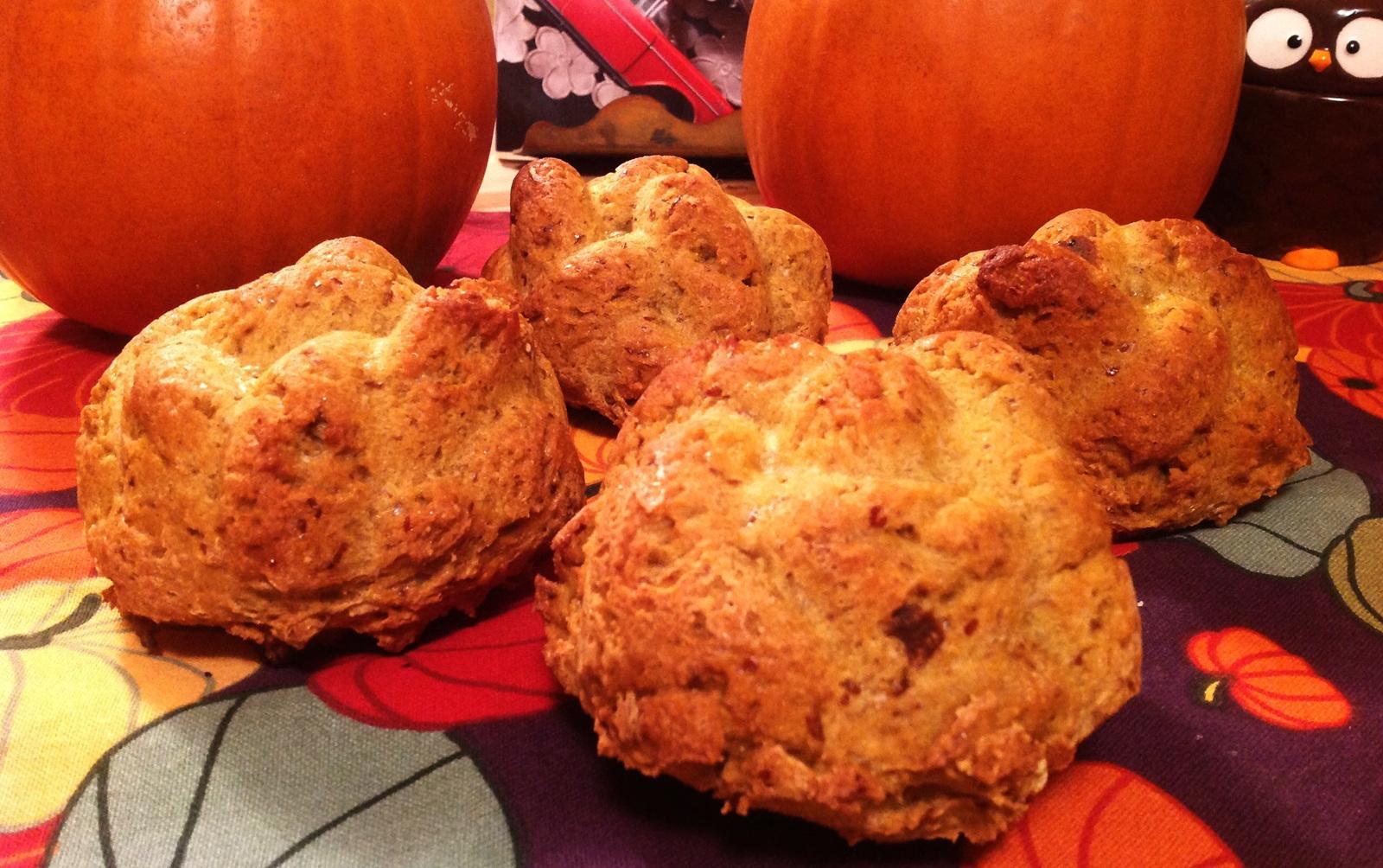 Pumpkin Challah Rolls [Vegan, Gluten-Free]