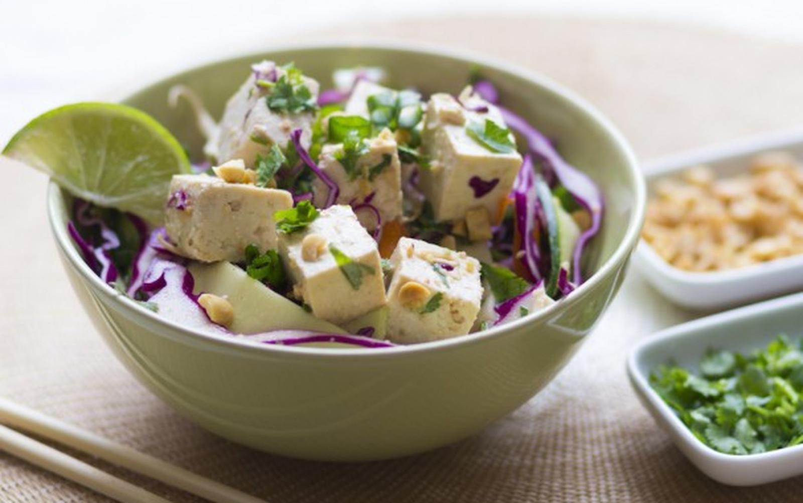 Raw Pad Thai Bowl With Tofu [Vegan, Gluten-Free]